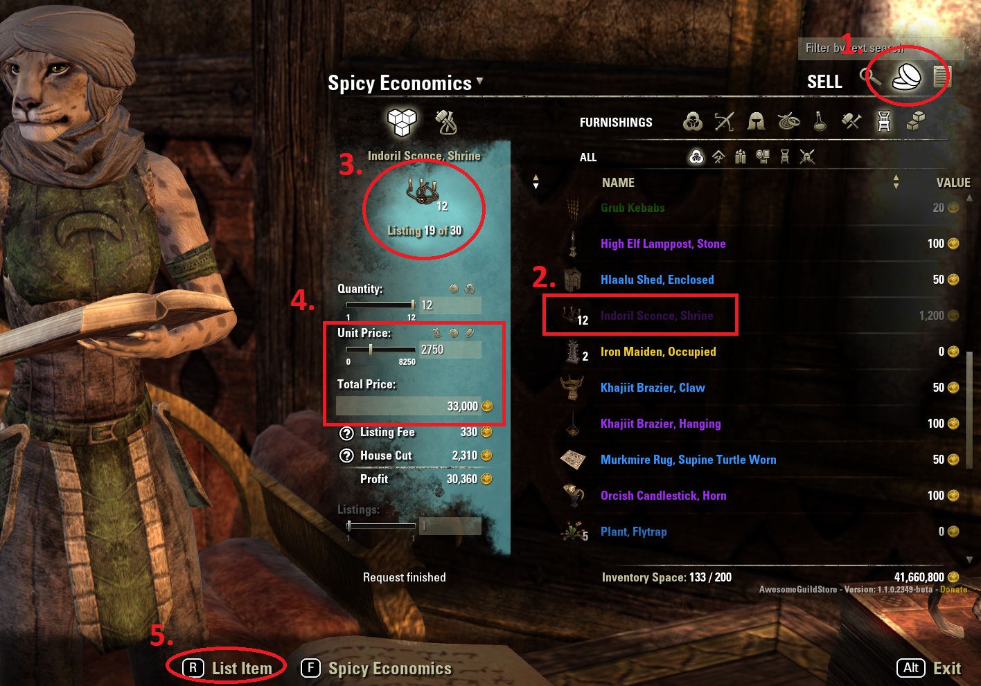 ESO Basic Guide to Making Gold - Spicy Economics